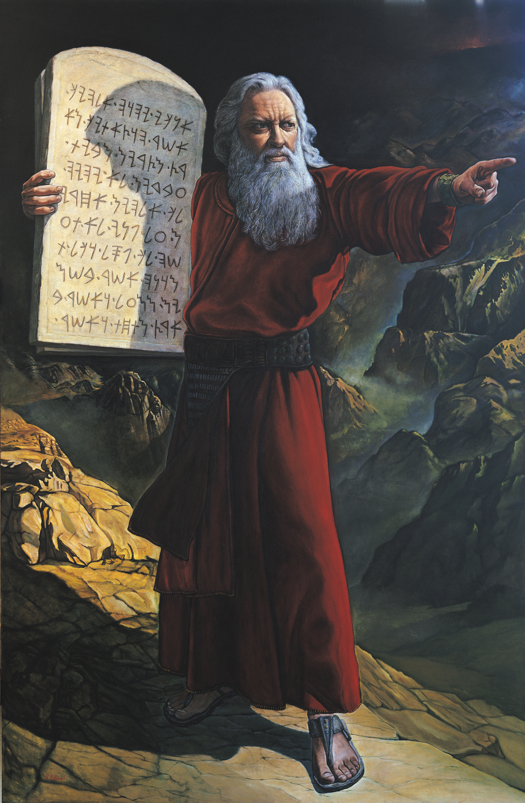 """moses vs abraham The significance of moses and amalek aka scriptural spiritual warfare [1] now amalek came and fought with israel in rephidim and moses said to joshua, """"choose us some men and go out, fight with amalek tomorrow i will stand on the top of the hill with the rod of god in my hand."""